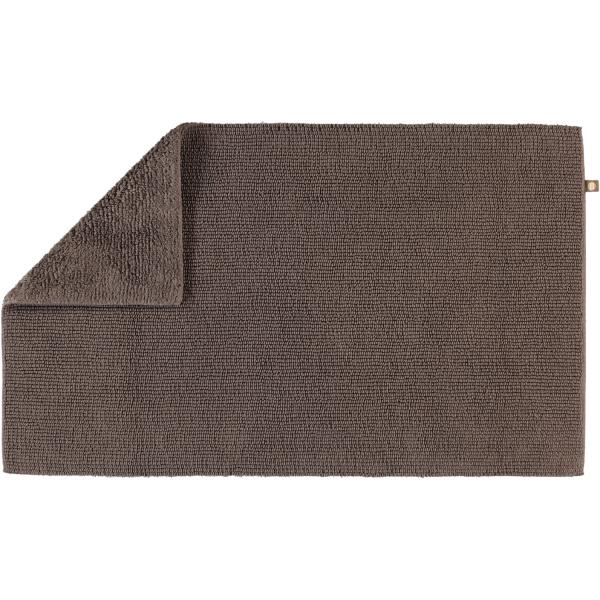 Rhomtuft - Badteppich Pur - Farbe: taupe - 58 50x75 cm