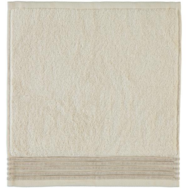 Möve - Wellness - Chenillebiesen - Farbe: natur - 071 (0-5537/8711) Seiflappen 30x30 cm