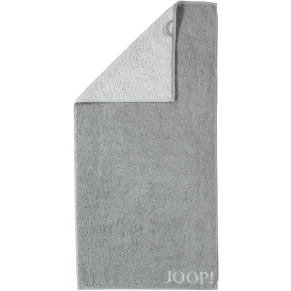 JOOP! Classic - Doubleface 1600 - Farbe: Silber - 76 Handtuch 50x100 cm