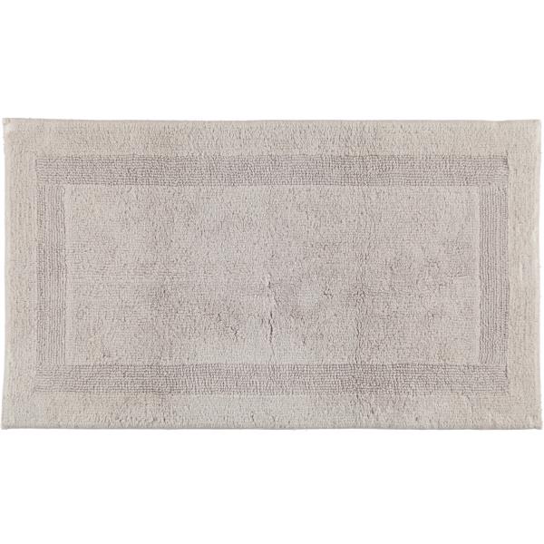 Cawö Home - Badteppich 1000 - Farbe: silber - 775 70x120 cm