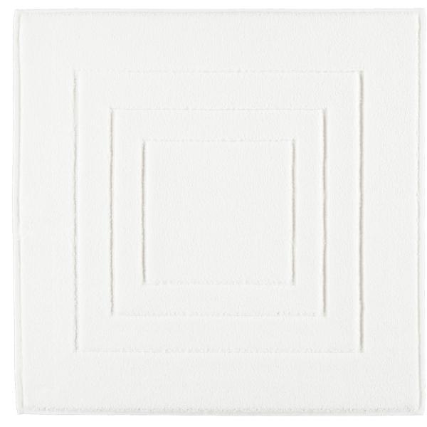 Vossen Badematte Calypso Feeling - Farbe: weiß - 030 60x60 cm