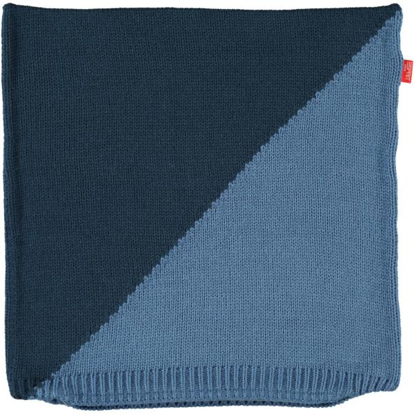 Esprit Kissenhülle Macro - 38x38 cm - Farbe: 080 - blau (70004)