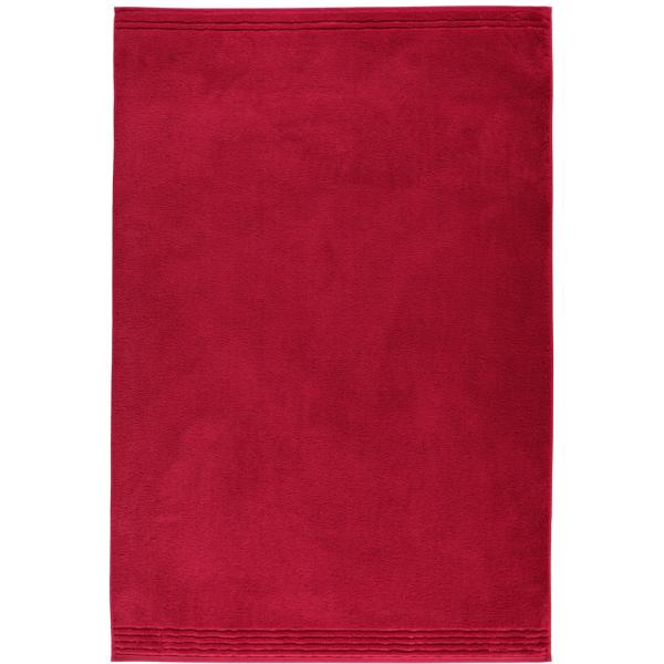 Vossen Vienna Style Supersoft - Farbe: rubin - 390 Badetuch 100x150 cm