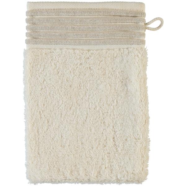 Möve - Wellness - Chenillebiesen - Farbe: natur - 071 (0-5537/8711) Waschhandschuh 15x20 cm
