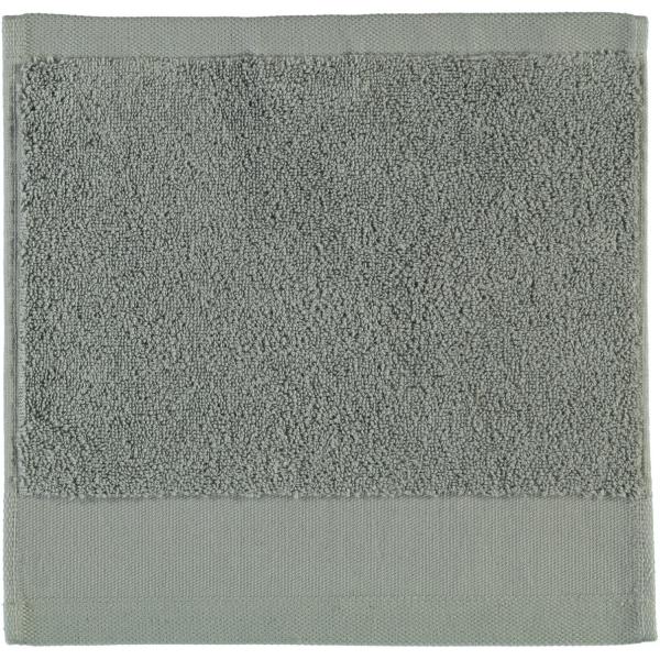 Rhomtuft - Handtücher Comtesse - Farbe: kiesel - 85 Seiflappen 30x30 cm