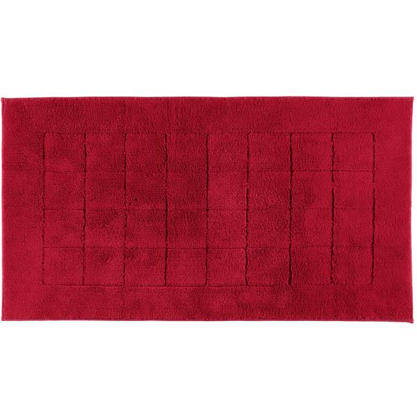 Vossen Badteppich Exclusive - Farbe: rubin - 390 67x120 cm