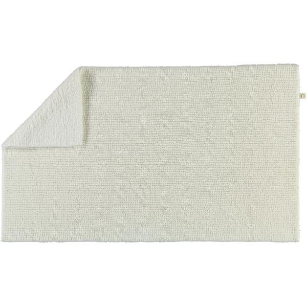 Rhomtuft - Badteppich Pur - Farbe: weiss - 01 60x100 cm
