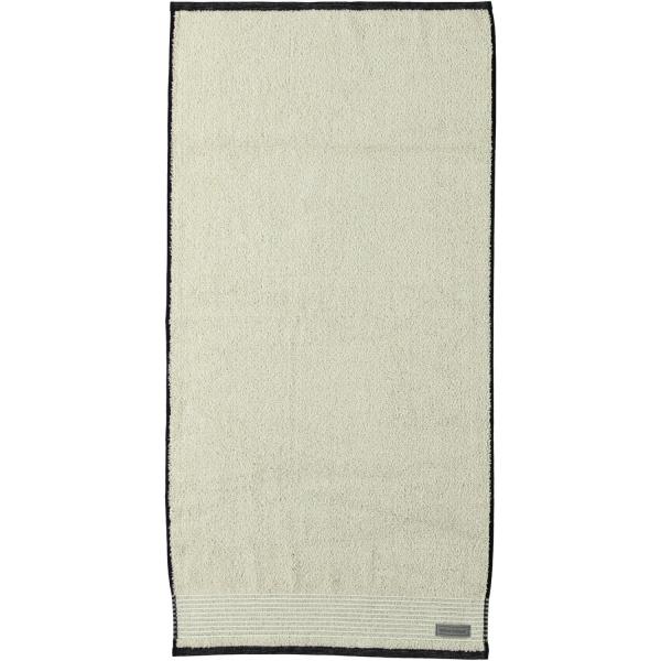 Möve - Eden - Melange mit Biesenbordüre - Farbe: natur - 081 (1-0151/8944) Handtuch 50x100 cm
