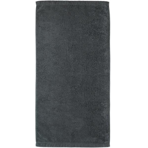 Cawö - Life Style Uni 7007 - Farbe: anthrazit - 774 Handtuch 50x100 cm