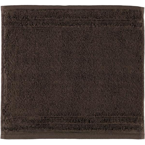 Vossen Vienna Style Supersoft - Farbe: dark brown - 693 Seiflappen 30x30 cm