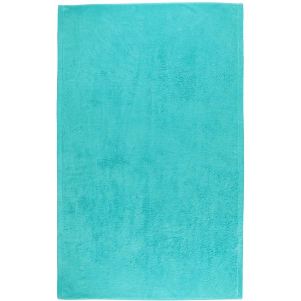 Cawö - Life Style Uni 7007 - Farbe: türkis - 430 Badetuch 100x160 cm