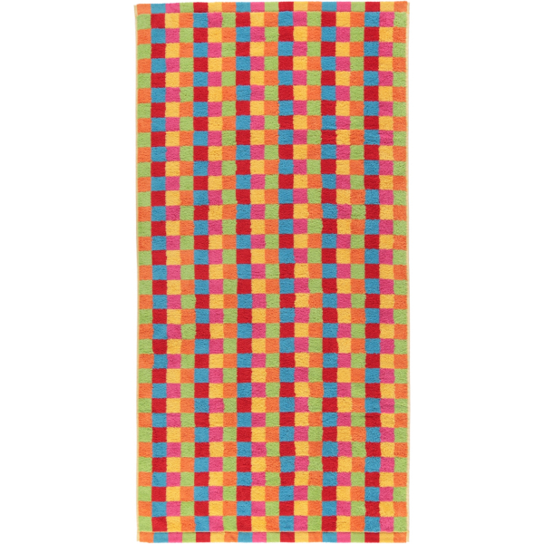 Cawö - Life Style Karo 7017 - Farbe: multicolor - 25 Duschtuch 70x140 cm