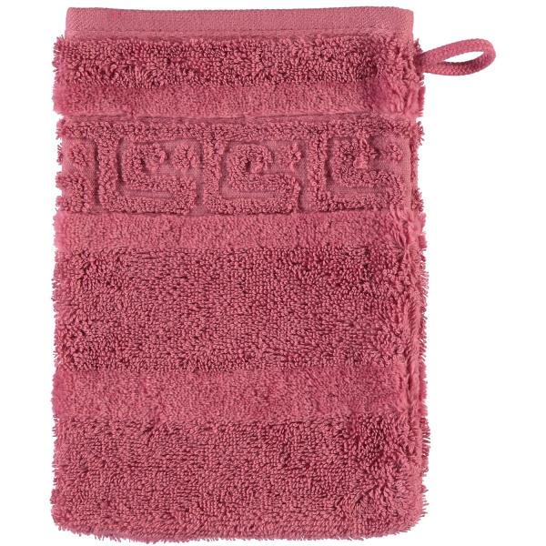 Cawö - Noblesse Uni 1001 - Farbe: 240 - rosa Waschhandschuh 16x22 cm