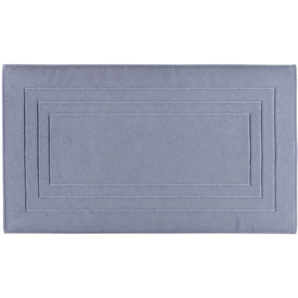 Vossen Badematte Calypso Feeling - Farbe: smoke blue - 444 67x120 cm