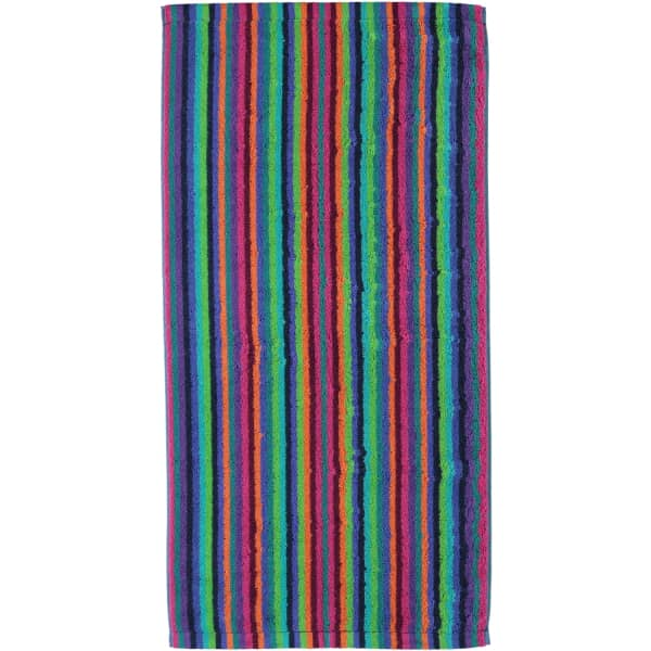 Cawö - Life Style Streifen 7048 - Farbe: 84 - multicolor Handtuch 50x100 cm