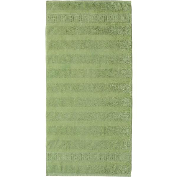 Cawö - Noblesse Uni 1001 - Farbe: reseda - 410 Duschtuch 80x160 cm
