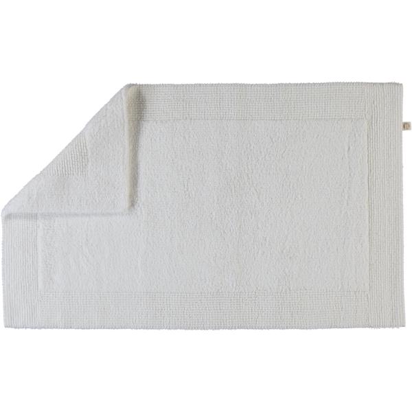 Rhomtuft - Badteppiche Prestige - Farbe: weiss - 01 70x130 cm