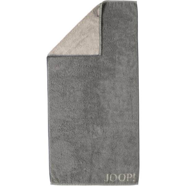 JOOP! Classic - Doubleface 1600 - Farbe: Graphit - 70 Duschtuch 80x150 cm
