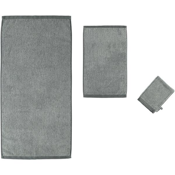 Marc o Polo Timeless Tone Stripe - Farbe: anthrazite/silver