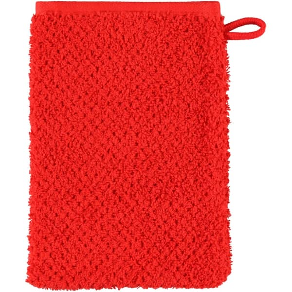 S.Oliver Uni 3500 - Farbe: rot - 248 Waschhandschuh 16x22 cm