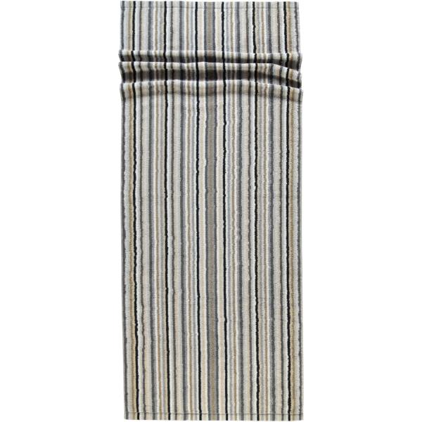 Cawö - Life Style Streifen 7048 - Farbe: 37 - kiesel Saunatuch 70x180 cm