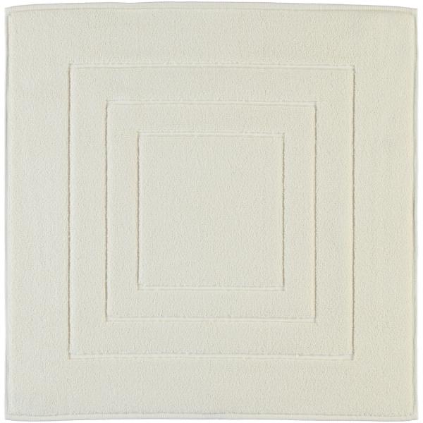 Vossen Badematte Calypso Feeling - Farbe: ivory - 103 60x60 cm
