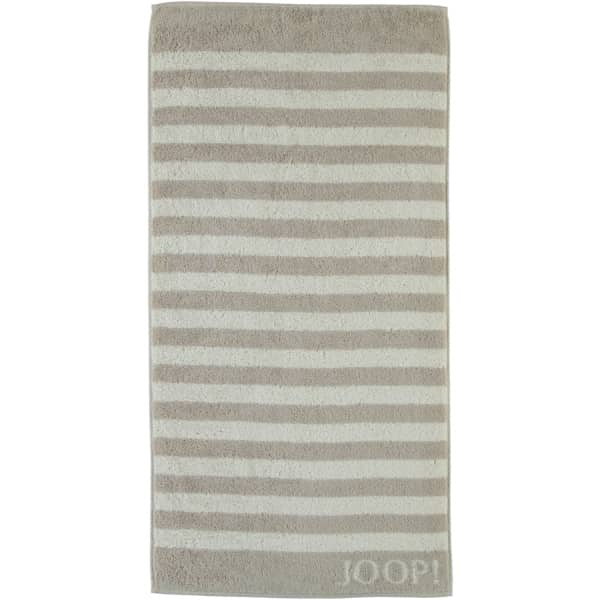 JOOP! Classic - Stripes 1610 - Farbe: Sand - 30 Duschtuch 80x150 cm