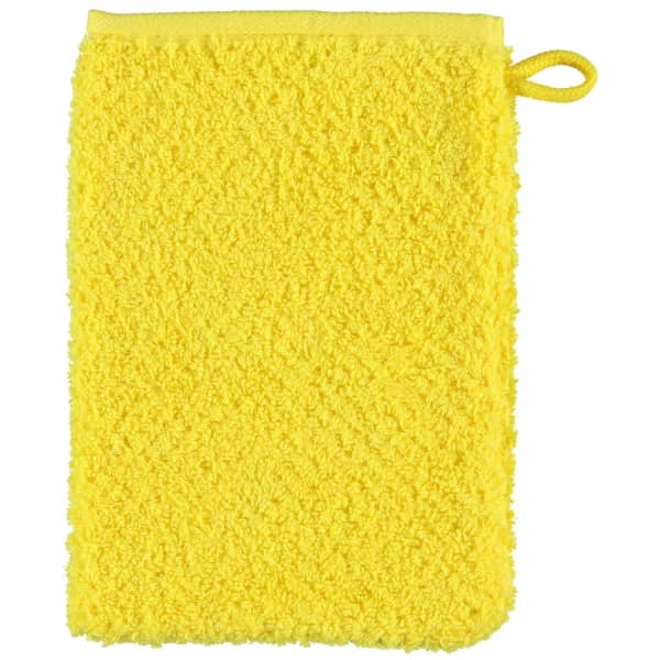S.Oliver Uni 3500 - Farbe: gelb - 510 Waschhandschuh 16x22 cm