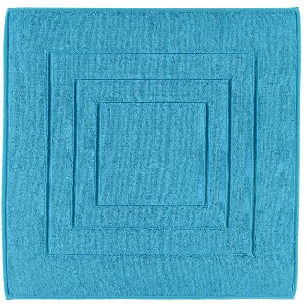 Vossen Badematte Calypso Feeling - Farbe: turquoise - 557 60x60 cm