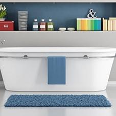 Badteppich-Größe - welche ist die Richtige?