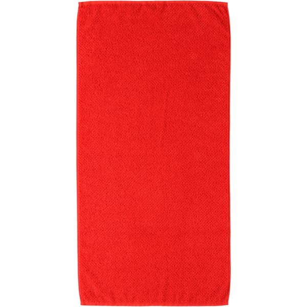 S.Oliver Uni 3500 - Farbe: rot - 248 Handtuch 50x100 cm