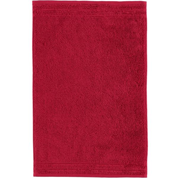 Vossen Calypso Feeling - Farbe: rubin - 390 Gästetuch 30x50 cm