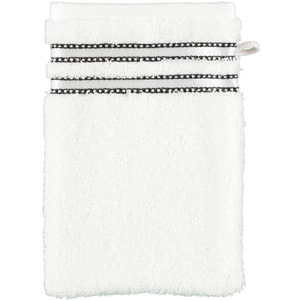 Vossen Cult de Luxe - Farbe: 030 - weiß Waschhandschuh 16x22 cm