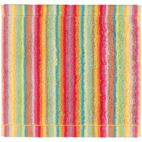 Cawö - Life Style Streifen 7008 - Farbe: 25 - multicolor Seiflappen 30x30 cm