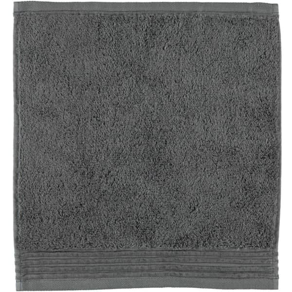 Möve - LOFT - Farbe: graphit - 843 (0-5420/8708) Seiflappen 30x30 cm