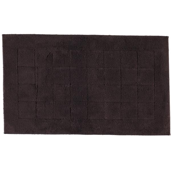 Vossen Badteppich Exclusive - Farbe: dark brown - 693 60x100 cm