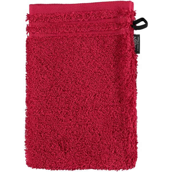 Vossen Calypso Feeling - Farbe: rubin - 390 Waschhandschuh 16x22 cm