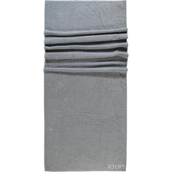 JOOP! Classic - Doubleface 1600 - Farbe: Silber - 76 Saunatuch 80x200 cm