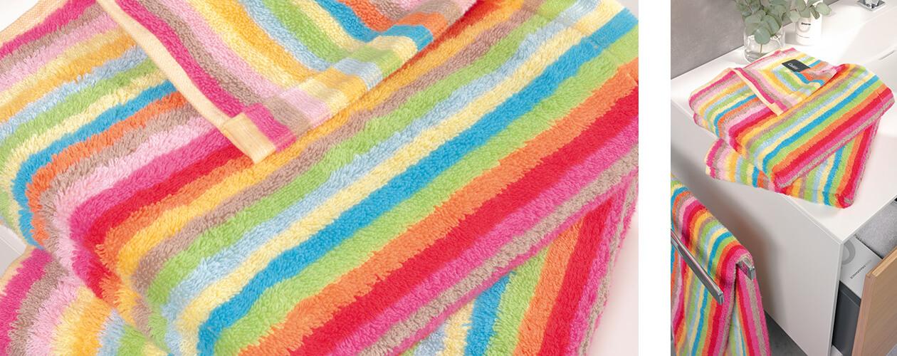 Cawö - Life Style Streifen 7008 - Farbe: 25 - multicolor Detailbild 1