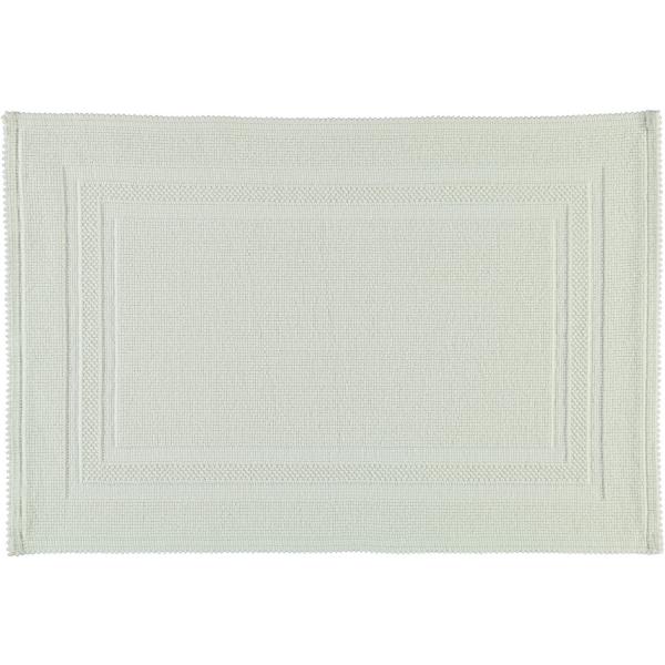 Rhomtuft - Badteppiche Gala - Farbe: weiss - 01 50x70 cm