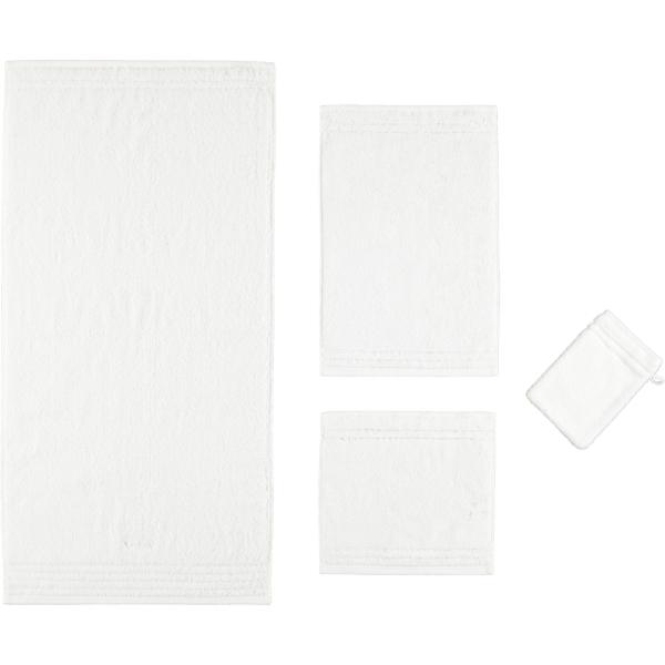 Vossen Vienna Style Supersoft - Farbe: weiß - 030 Handtuch 60x110 cm