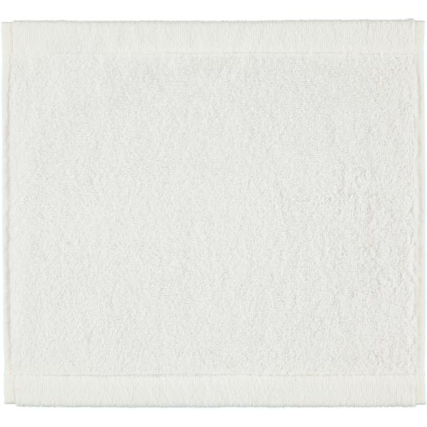 Cawö - Life Style Uni 7007 - Farbe: weiß - 600 Seiflappen 30x30 cm