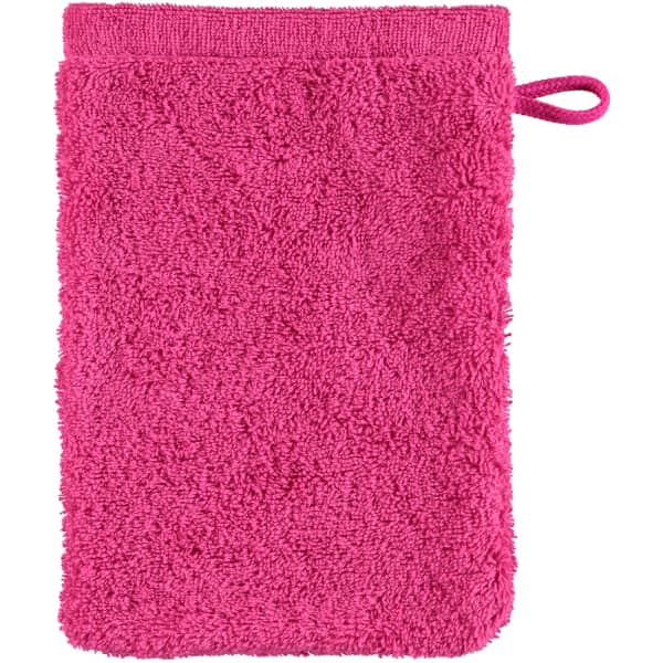 Cawö - Life Style Uni 7007 - Farbe: pink - 247 Waschhandschuh 16x22 cm