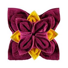 Handtücher für Gäste falten