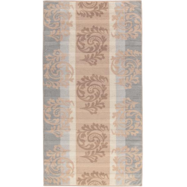 Cawö - Noblesse Cashmere Jacquard 1057 - Farbe: sand - 33 Duschtuch 80x150 cm