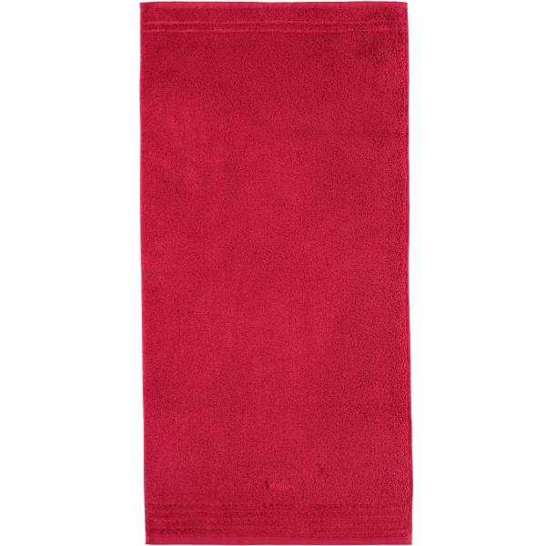 Vossen Vienna Style Supersoft - Farbe: rubin - 390 Handtuch 60x110 cm