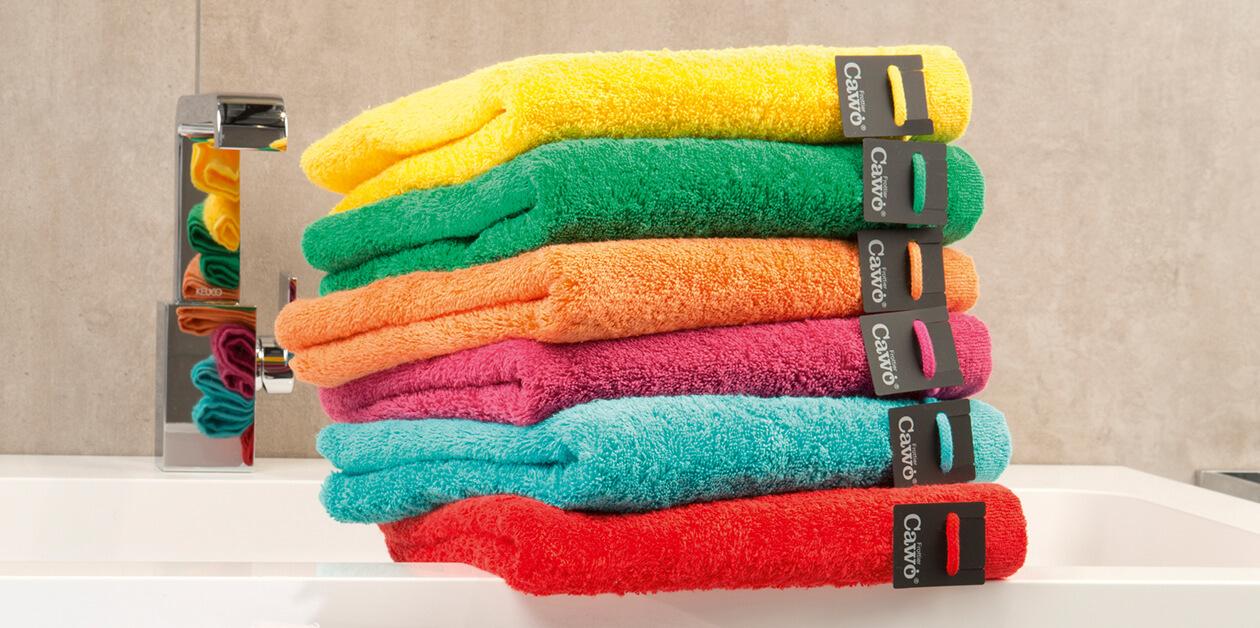 Cawö - Life Style Uni 7007 - Farbe: pistazie - 412 Handtuch 50x100 cm Detailbild 2