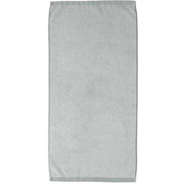 Marc o Polo Timeless Tone Stripe - Farbe: grey/white Handtuch 50x100 cm