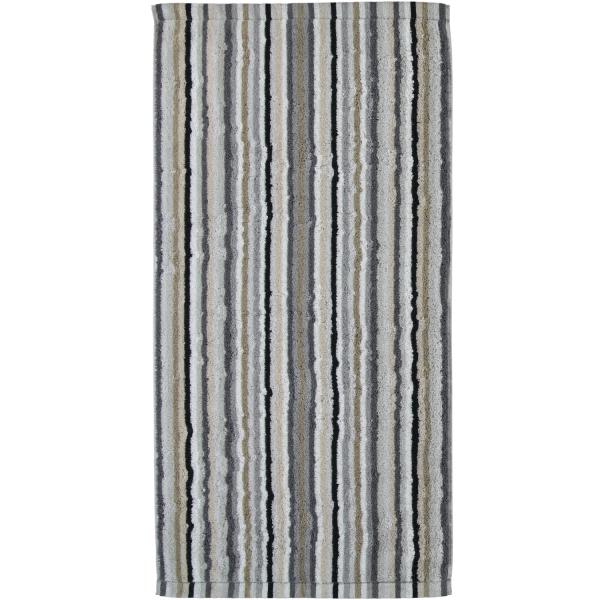 Cawö - Life Style Streifen 7048 - Farbe: 37 - kiesel Handtuch 50x100 cm