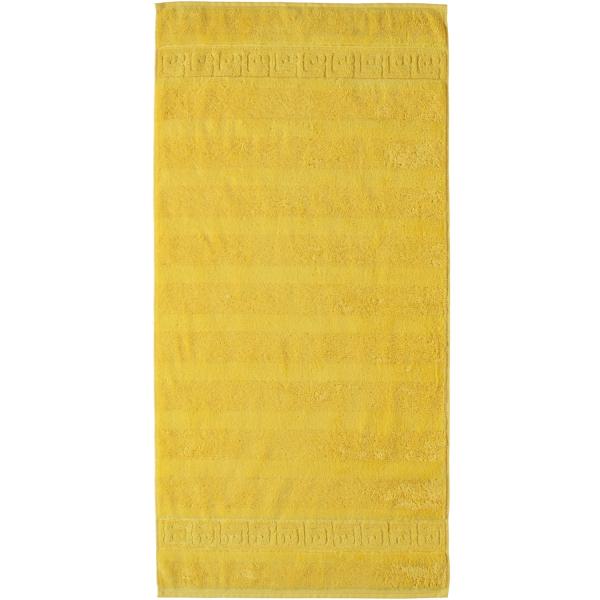 Cawö - Noblesse Uni 1001 - Farbe: 521 - gelb Duschtuch 80x160 cm